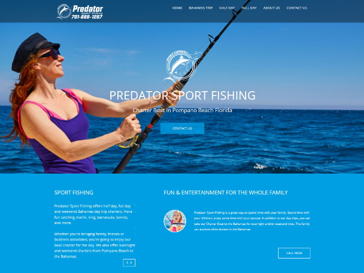 predator sport fishing - socaial media marketing in midland texas
